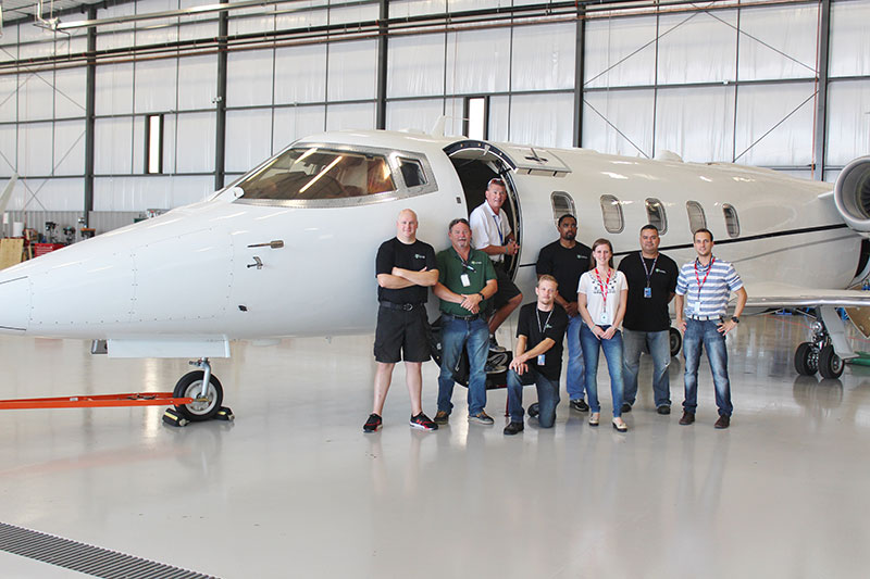 Global Aviation Technologies Completes Air Ambulance Modification on the Learjet 60XR Aircraft